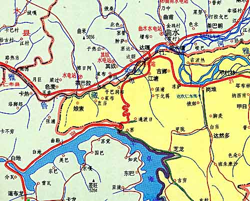 only modern chinese toponyms - for chinese speaking people
